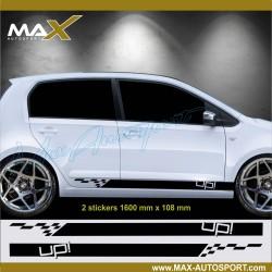 SPORT LOGO Volkswagen UP sticker decal