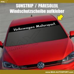 Windshield decal Volkswagen Motorsport