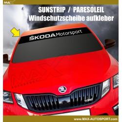 Windshield decal SKODA Motorsport