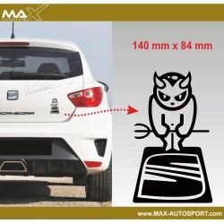Sticker decals SEAT DEVIL